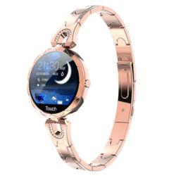 smartwatch fino em metal