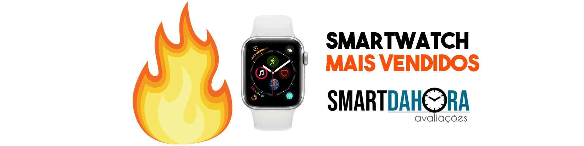 smartwatch mais vendidos