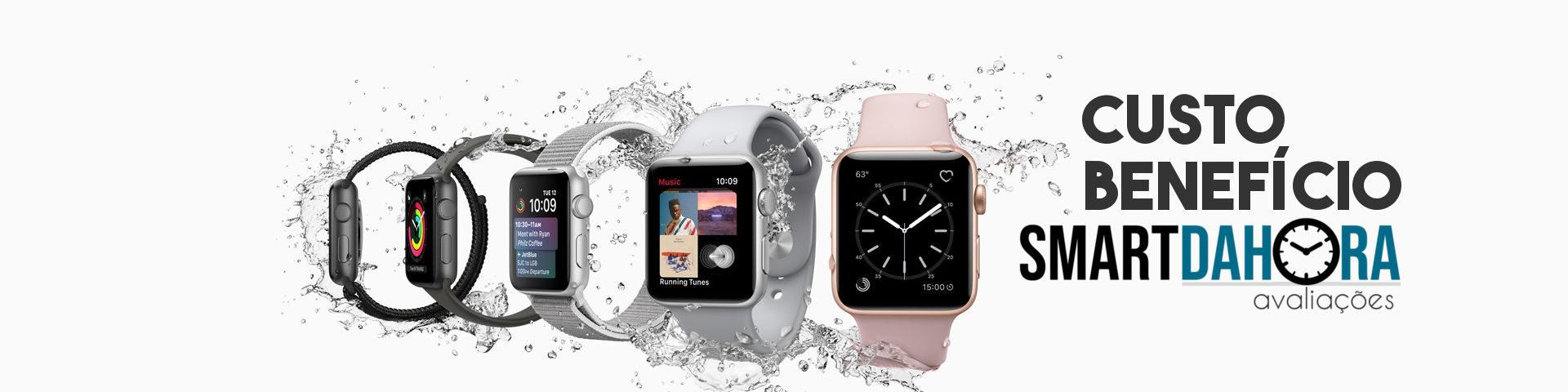 smartwatch melhor custo benefício