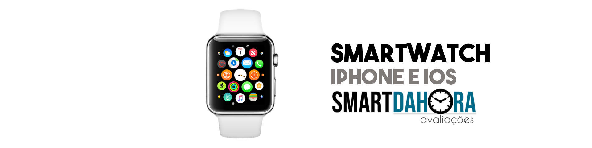 smartwatch compativel com iphone e ios