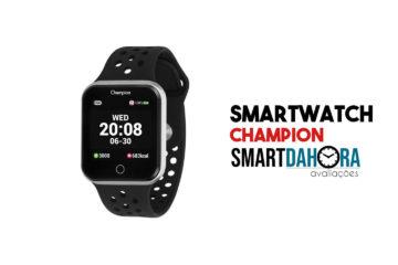 smartwatch champion avaliacao