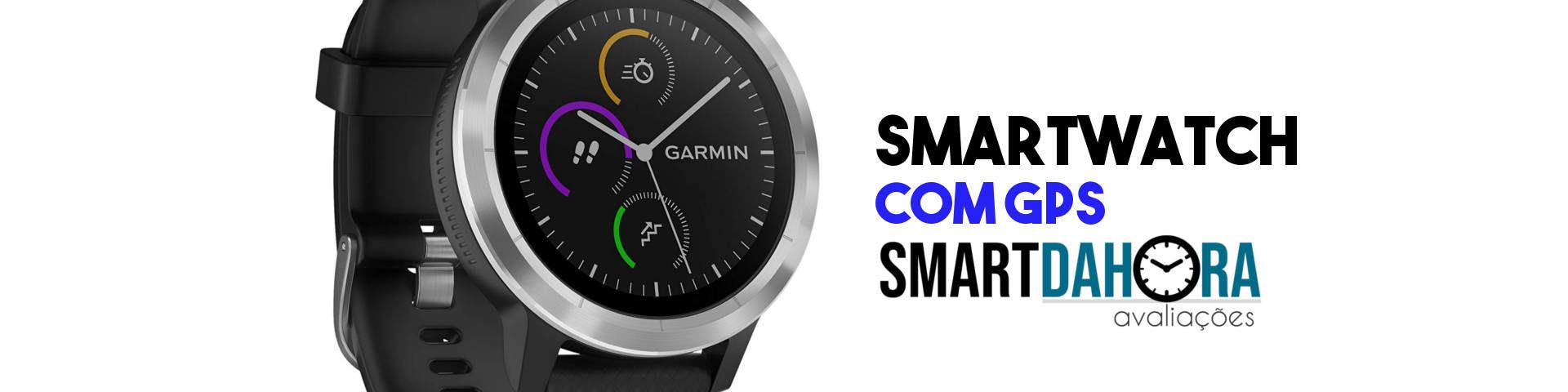 smartwatch com gps para corrida e ciclismo