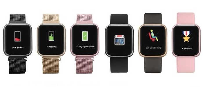 smartwatch p80 cores