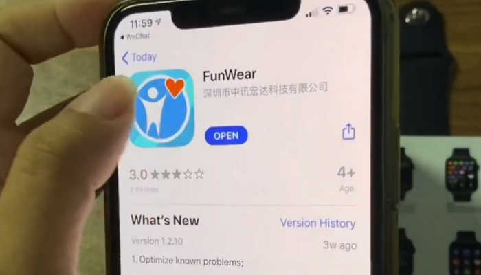app k8 iwo funwear