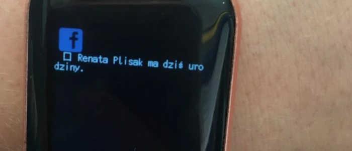 notificações no smartwatch i5