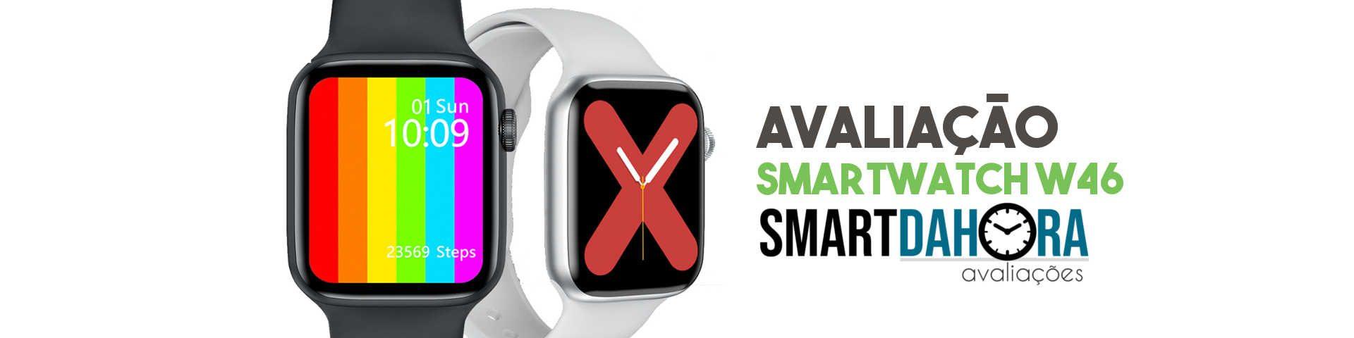 review w46 smartwatch