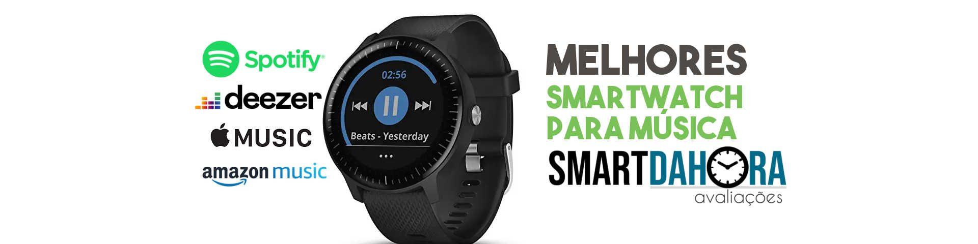smartwatch para música melhores