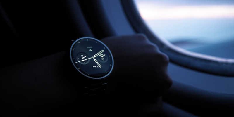 foto de um smartwatch