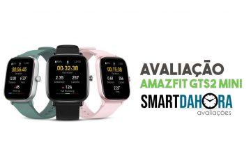 avaliação xiaomi amazfit gts 2 mini